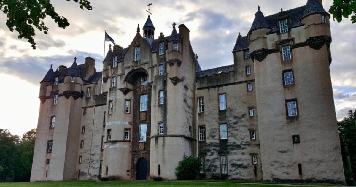 Беспокойные призраки старинного шотландского замка