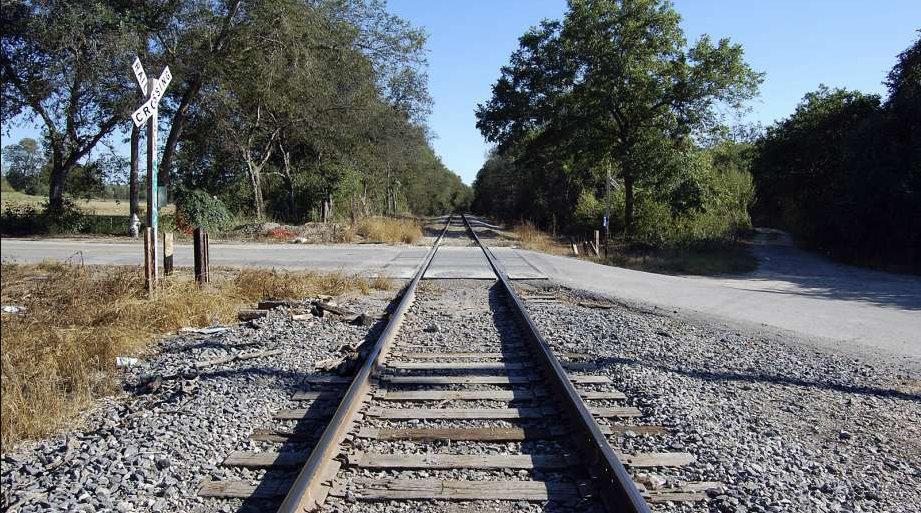Призраки детей на старом железнодорожном переезде